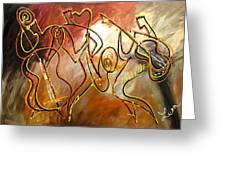 Soul Jazz 2 Greeting Card