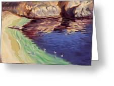 Soulful Sanctuary Point Lobos Greeting Card by Karin  Leonard