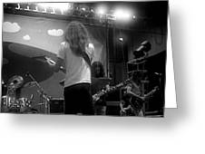 Soundcheck #11 Greeting Card