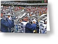 Sounds Of College Football Greeting Card