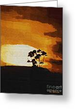 South African Sky Greeting Card