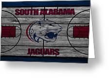 South Alabama Jaguars Greeting Card