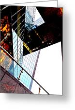 South Bank City Reflections No.4 Greeting Card