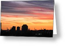 South Beach - 121247 Greeting Card by DC Photographer