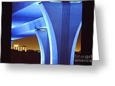 South Beach Bridge Greeting Card