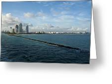 South Beach Miami Fl Greeting Card