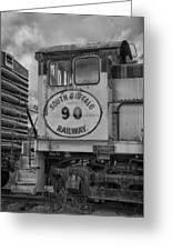 South Buffalo Railway  7d06191b Greeting Card