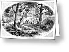 South Carolina Battlefield Greeting Card