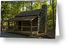 South Carolina Log Cabin Greeting Card