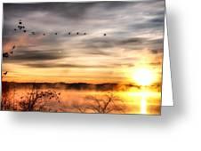 South Carolina Morning Greeting Card
