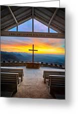 South Carolina Pretty Place Chapel Sunrise Embraced Greeting Card