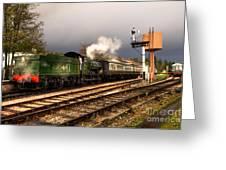 South Devon Departure  Greeting Card