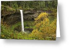 South Falls In Autumn Greeting Card