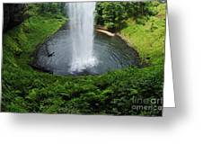 South Falls Oregon Greeting Card