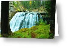 South Fork Falls  Greeting Card
