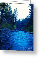 South Fork Of The Tieton  Greeting Card