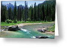 South Fork Payette River Grandjean Greeting Card