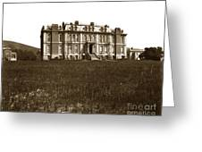 South Hall Which Housed The College Of Science University Of Cal Circa 1904 Greeting Card