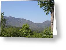 South Hancock Mountain New Hampshire Greeting Card