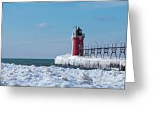 South Haven Ice Greeting Card