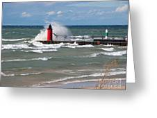 South Haven Splash Greeting Card