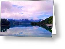 South Holston Lake Tn Greeting Card