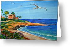 South La Jolla Greeting Card