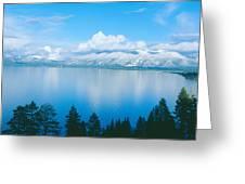 South Lake Tahoe In Winter, California Greeting Card