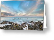 South Maui Sunrise Greeting Card