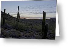 South Mountain Sunrise Greeting Card