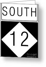 South Nc 12 Greeting Card