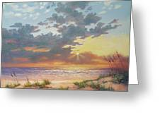 South Padre Island Splendor Greeting Card