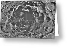 South Pole Of Moon  Greeting Card