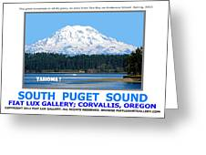 South Puget Sound Greeting Card