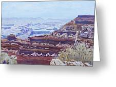 South Rim Color Greeting Card
