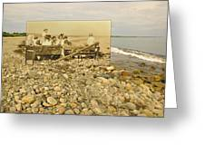 South Shore Beach In Little Compton Rhode Island Greeting Card