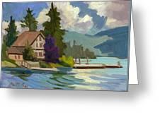 South Shore Big Bear Lake Greeting Card