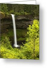 South Silver Falls 1 Greeting Card