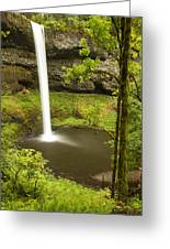South Silver Falls 2 Greeting Card
