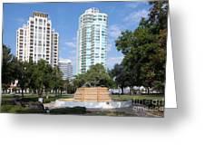 South Straub Park St Petersburg Florida Greeting Card