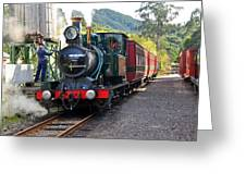 South West Wilderness Railway Greeting Card