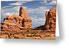 South Window Arches National Park Greeting Card