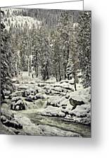South Yuba River Greeting Card