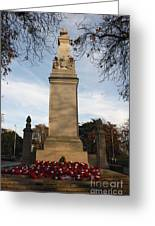 Southampton Cenotaph Hampshire Greeting Card