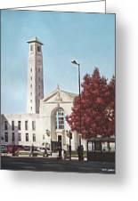 Southampton Civic Center Public Building Greeting Card