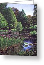 Southampton Hillier Gardens Greeting Card
