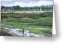 Southampton River Hamble Greeting Card