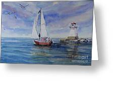 Southampton Wind Greeting Card