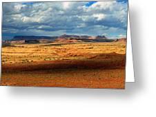 Southeastern Utah Desert Panoramic Greeting Card
