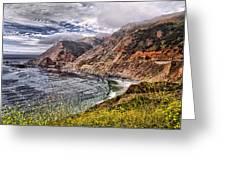 Souther California Coast Greeting Card
